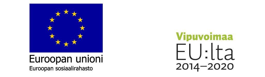 Euroopan unionin logo ja Vipuvoimaa EU:lta logo
