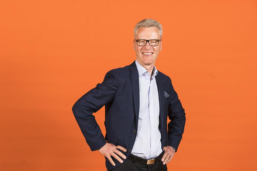 Diakonissalaitoksen Diakonia ja sosiaalinen vastuu -toimialan johtaja Ilkka Kantola.