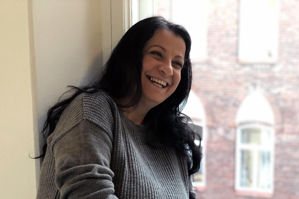 Anca Nica, an employee of a E-Romnja organisation.