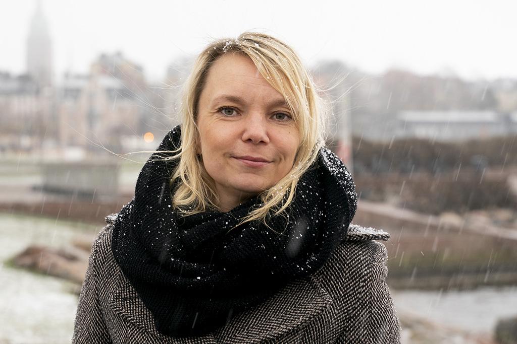 Project manager Mari Tikkanen.