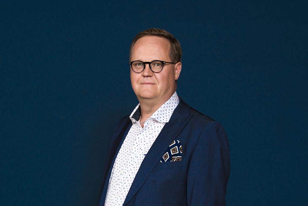 Diakonissalaitoksen toimitusjohtaja Olli Holmström.