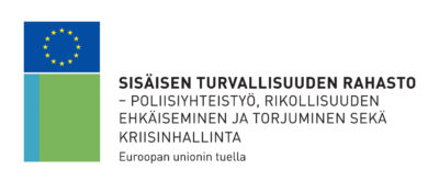 Euroopan unionin sisäisen turvallisuuden rahaston logo.