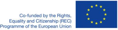 Euroopan Unionin Perusoikeus-, tasa-arvo- ja kansalaisuus -rahoitusohjelma (REC) logo.