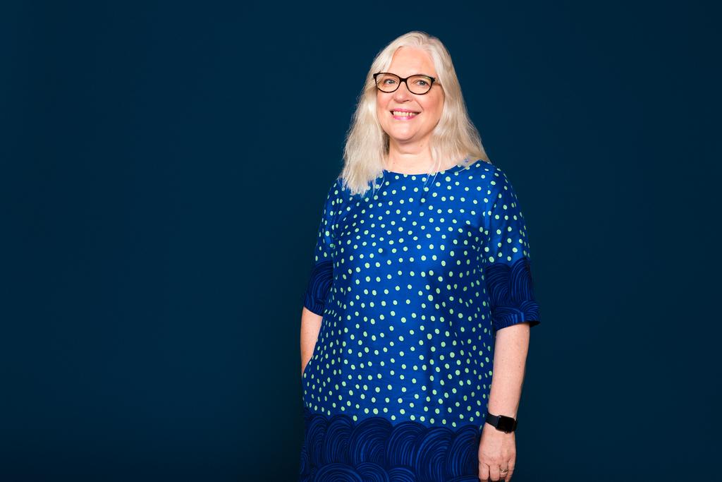 Henkilöstöjohtaja Mari Rautiainen.