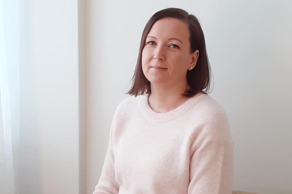 Minna Kestila-Suopajärvi, henkilökuva.