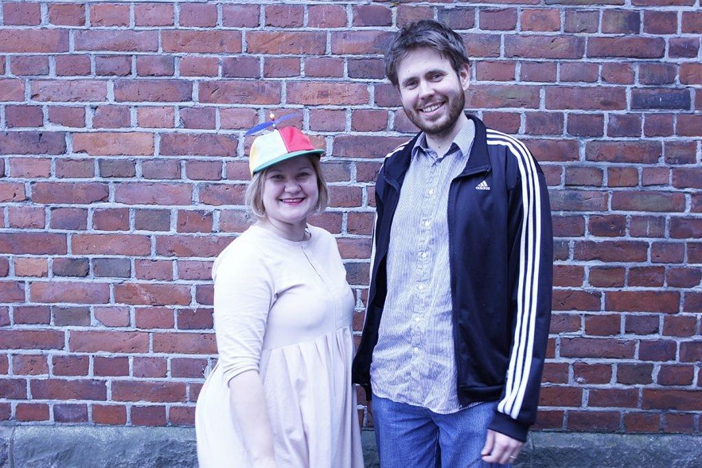 Saara Simonen ja Joonas Timonen.