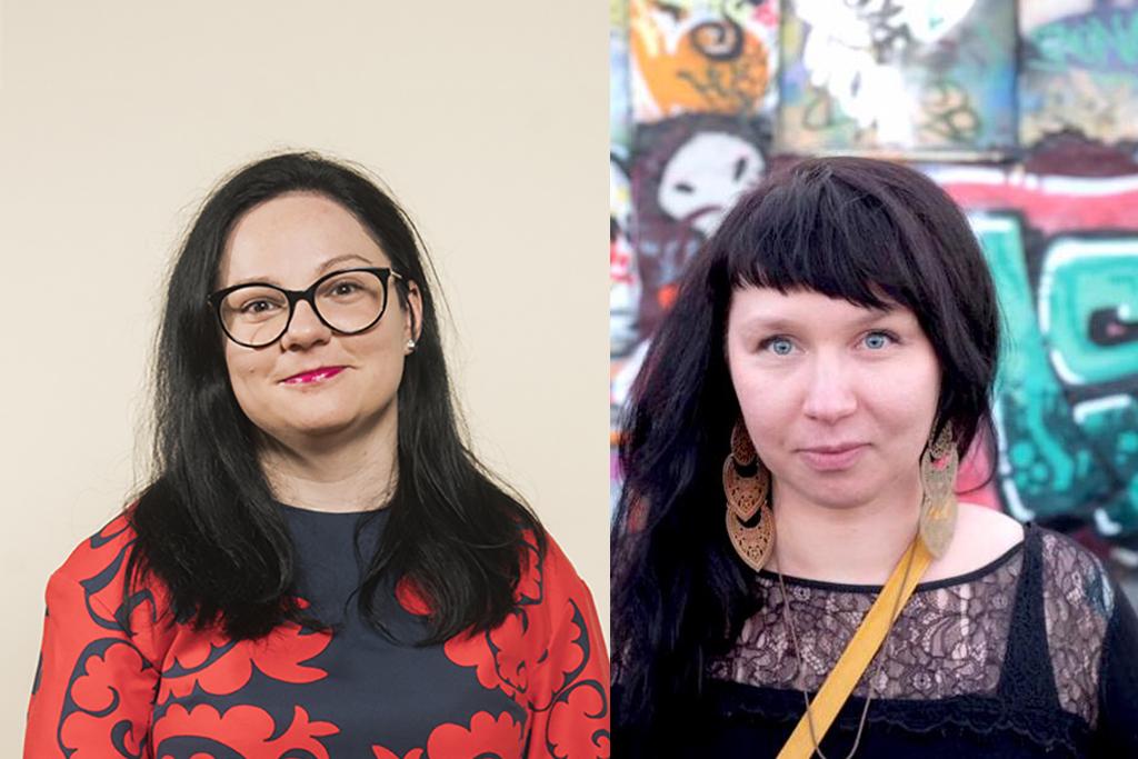 Anca Enache ja Marjaana Toiviainen.