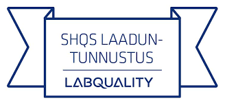 SHQS laaduntunnustus logo, labquality.